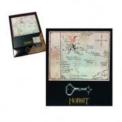The Hobbit - Thorin's Key and Map Black Small key