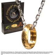 The Lord of the Rings - The One Ring, Stainless Steel on Chain
