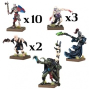 Kings of War Vanguard: Undead Warband Set - EN