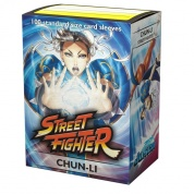 Jasco Street Fighter Standard Sleeves - Chun-Li (100 Sleeves)