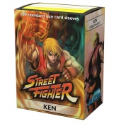 Jasco Street Fighter Standard Sleeves - Ken (100 Sleeves)