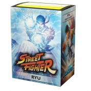 Jasco Street Fighter Standard Sleeves - Ryu (100 Sleeves)