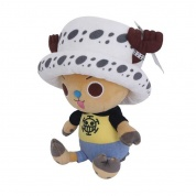 One Piece - Chopper x Law Plush Figure 20cm