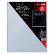 "UP - 9"" X 11-1/4"" Thick Magazine Toploader 10ct"