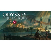 Odyssey of the Dragonlords: Hardcover adventure book - EN