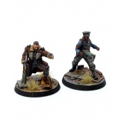 Fallout: Wasteland Warfare - Brotherhood of Steel: Elder Maxon & Capt Kells - EN