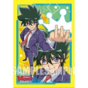 Bushiroad Sleeve Collection Mini Extra Vol.59 CardFight!! Vanguard World Grand Prix 2019 Commemorative Sleeves (Nitta Shinemon)