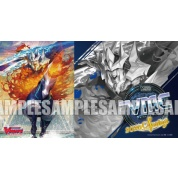 "Fighters Rubber Playmat Extra Vol.14 Card Fight !! Vanguard ""Knight King Alfred"" VMC2020 Spring Limited Rubber Mat Blue"