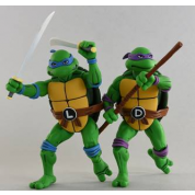 Teenage Mutant Ninja Turtles - Cartoon Series 2 Leonardo and Donatello 2 pack Action Figures 18cm