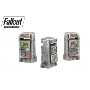 Fallout: Wasteland Warfare - Terrain Expansion: Heavy Consoles (2019) - EN