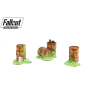 Fallout: Wasteland Warfare - Terrain Expansion: Radioactive Containers (2019) - EN
