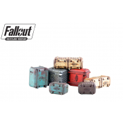 Fallout: Wasteland Warfare - Terrain Expansion: Vault Tec Supplies (2019) - EN