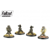 Fallout: Wasteland Warfare - Terrain Expansion: Turrets (2019) - EN