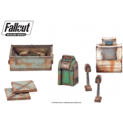 Fallout: Wasteland Warfare - Terrain Expansion: Boston Street Scatter - EN