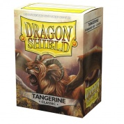 Dragon Shield Classic Sleeves - Tangerine 'Dyrkottr of the Nekotora' (100 Sleeves)