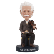 Royal Bobbles - Albert Einstein Violin Bobblehead