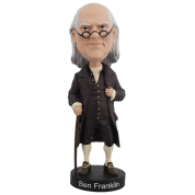 Royal Bobbles - Ben Franklin V2 Bobblehead