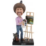 Royal Bobbles - Bob Ross Bobblehead