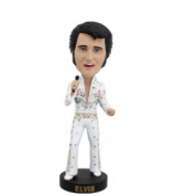 Royal Bobbles - Elvis Bobblehead - Eagle Suit