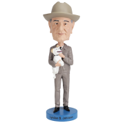 Royal Bobbles - Lyndon B. Johnson Bobblehead