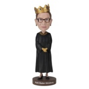 Royal Bobbles - Notorious RBG Crown Bobblehead