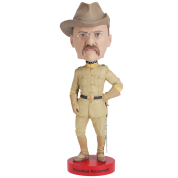 Royal Bobbles - Teddy Roosevelt Bobblehead