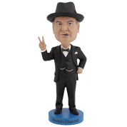 Royal Bobbles - Winston Churchill V2 Bobblehead
