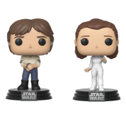 Funko POP! Star Wars - Han & Leia 2-pack Vinyl Figures 10cm