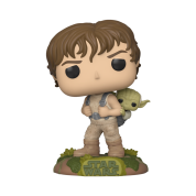 Funko POP! Star Wars - Training Luke with Yoda Vinyl Figure 10cm