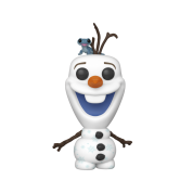 Funko POP! Frozen 2 - Olaf with Bruni Vinyl Figure 10cm