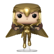 Funko POP! Wonder Woman 1984 - Wonder Woman (Gold Flying Pose) Vinyl Figure 10cm
