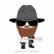 Funko POP! ZZ Top- Billy Gibbons Figure 10cm