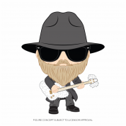 Funko POP! ZZ Top- Dusty Hill Figure 10cm