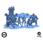 Guild Ball - The Mason's Guild: Solid Foundations