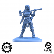 Guild Ball - The Mason's Guild: Veteran Chisel