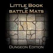 The Little Book of Battle Mats - Dungeon Edition - EN