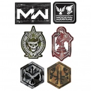 Call of Duty: Modern Warfare Rubber Patch Set