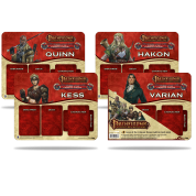 UP - Pathfinder Adventure Card Game: Curse of the Crimson Throne Mini Mat 4 Pack