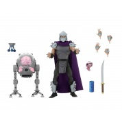 Teenage Mutant Ninja Turtles - Cartoon Shredder vs Krang in Bubble Walker 2 Pack Action Figures 18cm