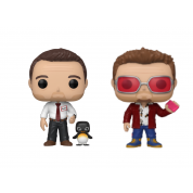 Funko POP! Fight Club - Tyler Durden w/Chase and Buddy Vinyl Figures 10cm Assortment (5+1 chase figure)
