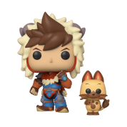Funko POP! Monster Hunter - Lute w/Navirou Vinyl Figures 10cm