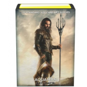Justice League Matte Art Sleeves - Aquaman (100 Sleeves)