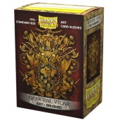 Dragon Shield Brushed Art Sleeves - General Vicar: Coat-of-Arms (100 Sleeves)
