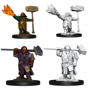 D&D Nolzur's Marvelous Miniatures - Male Dwarf Cleric (6 Units)