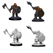 D&D Nolzur's Marvelous Miniatures - Male Dwarf Fighter (6 Units)