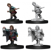 D&D Nolzur's Marvelous Miniatures - Male Halfling Rogue (6 Units)