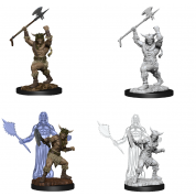D&D Nolzur's Marvelous Miniatures - Male Human Barbarian (6 Units)