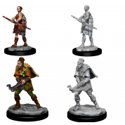 D&D Nolzur's Marvelous Miniatures - Female Human Ranger (6 Units)