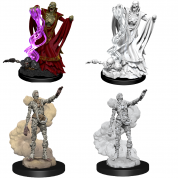 D&D Nolzur's Marvelous Miniatures - Lich & Mummy Lord (6 Units)