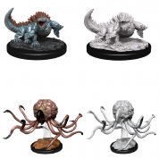 D&D Nolzur's Marvelous Miniatures - Grell & Basilisk (6 Units)